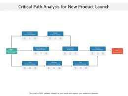 Critical Path Analysis For New Product Launch