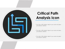 Critical Path Analysis Icon