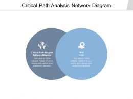Critical Path Analysis Network Diagram Ppt Powerpoint Presentation Slides Clipart Cpb