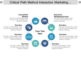 Critical Path Method Interactive Marketing Services Porter Five Forces Cpb