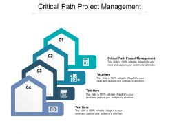 Critical Path Project Management Ppt Powerpoint Presentation Layouts Guide Cpb