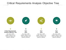 Critical Requirements Analysis Objective Tree Ppt Powerpoint Presentation Outline Outfit Cpb