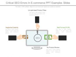 Critical Seo Errors In E-Commerce Ppt Examples Slides
