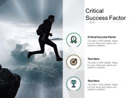 Critical Success Factor Ppt Powerpoint Presentation File Professional Cpb