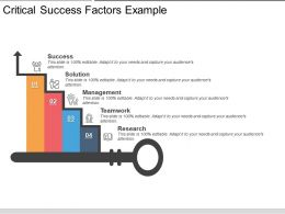 Critical Success Factors Example Ppt Examples