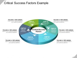 Critical Success Factors Example Ppt Sample File