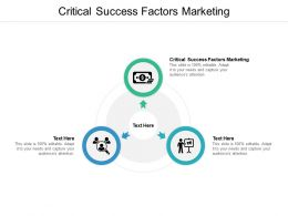 Critical Success Factors Marketing Ppt Powerpoint Presentation Portfolio Cpb