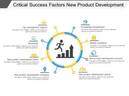 Critical Success Factors New Product Development Ppt Infographics