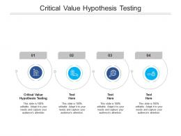 Critical Value Hypothesis Testing Ppt Powerpoint Presentation Outline Icons Cpb