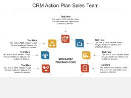 CRM Action Plan Sales Team Ppt PowerPoint Presentation Infographic Template Cpb
