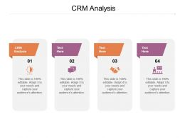 CRM Analysis Ppt Powerpoint Presentation File Objects Cpb