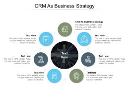 CRM As Business Strategy Ppt Powerpoint Presentation Styles Slideshow Cpb
