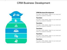 Crm Business Development Ppt Powerpoint Presentation Icon Portfolio Cpb