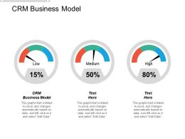 CRM Business Model Ppt Powerpoint Presentation Portfolio Examples Cpb