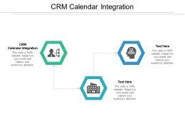 CRM Calendar Integration Ppt Powerpoint Presentation Gallery Samples Cpb