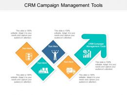 CRM Campaign Management Tools Ppt Powerpoint Presentation Ideas Samples Cpb