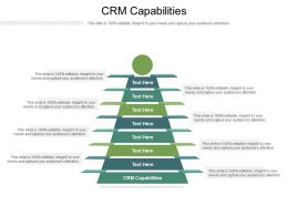 CRM Capabilities Ppt Powerpoint Presentation Infographic Template Layouts Cpb