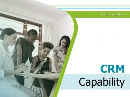 CRM Capability Resources Performance Marketing Management Capabilities Technology Strategy