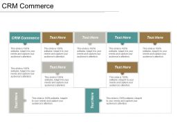CRM Commerce Ppt Powerpoint Presentation File Rules Cpb