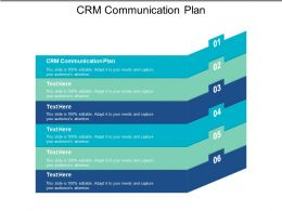 CRM Communication Plan Ppt Powerpoint Presentation File Template Cpb