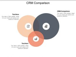 CRM Comparison Ppt Powerpoint Presentation Gallery Images Cpb