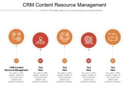 CRM Content Resource Management Ppt Powerpoint Presentation Inspiration Guide Cpb