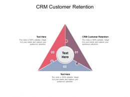CRM Customer Retention Ppt Powerpoint Presentation Infographics Show Cpb