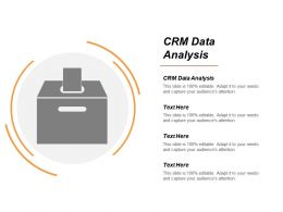 Crm Data Analysis Ppt Powerpoint Presentation File Outfit Cpb