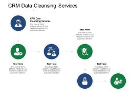CRM Data Cleansing Services Ppt Powerpoint Presentation Infographic Template Sample Cpb