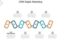 CRM Digital Marketing Ppt Powerpoint Presentation Infographic Template Slide Cpb