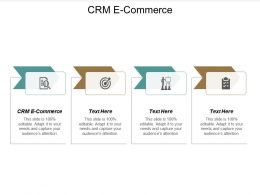 CRM E Commerce Ppt Powerpoint Presentation Examples Cpb