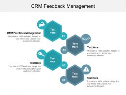 CRM Feedback Management Ppt Powerpoint Presentation Styles Graphics Example Cpb