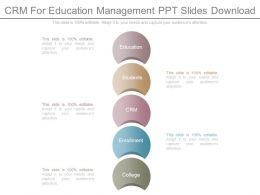 Crm For Education Management Ppt Slides Download