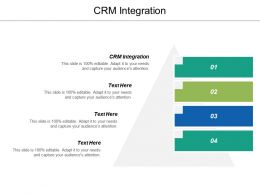 Crm Integration Ppt Powerpoint Presentation Icon Professional Cpb