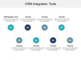 CRM Integration Tools Ppt Powerpoint Presentation Infographic Template Good Cpb