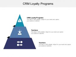 CRM Loyalty Programs Ppt Powerpoint Presentation Ideas Graphics Template Cpb