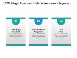 Crm Magic Quadrant Data Warehouse Integration Seo Dashboard Cpb