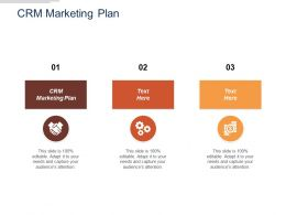 Crm Marketing Plan Ppt Powerpoint Presentation Model Outline Cpb