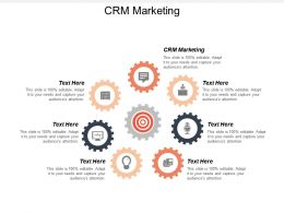 CRM Marketing Ppt Powerpoint Presentation File Graphics Pictures Cpb
