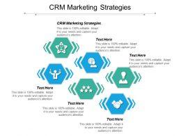CRM Marketing Strategies Ppt Powerpoint Presentation Gallery Gridlines Cpb
