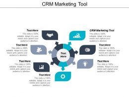 CRM Marketing Tool Ppt Powerpoint Presentation Gallery Example File Cpb