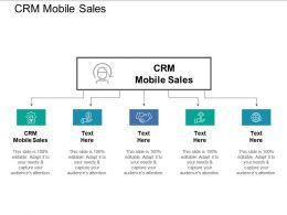 CRM Mobile Sales Ppt Powerpoint Presentation Outline Objects Cpb