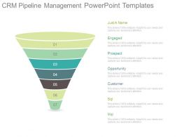 Crm Pipeline Management Powerpoint Templates
