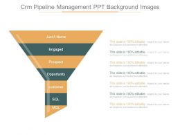 Crm Pipeline Management Ppt Background Images