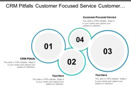 Crm Pitfalls Customer Focused Service Customer Relationship Management Overview Cpb
