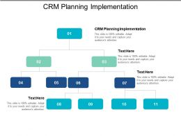 CRM Planning Implementation Ppt Powerpoint Presentation File Templates Cpb
