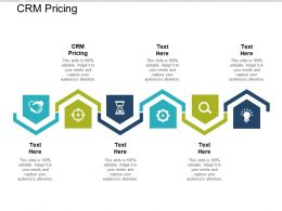CRM Pricing Ppt Powerpoint Presentation Layouts Icons Cpb