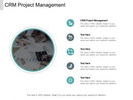 CRM Project Management Ppt Powerpoint Presentation Model Cpb