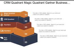 Crm Quadrant Magic Quadrant Gartner Business Mappings Marketing Channel Cpb