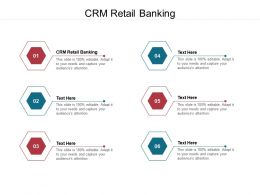 CRM Retail Banking Ppt Powerpoint Presentation Pictures Show Cpb